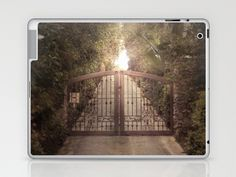 do not proceed while light is on Laptop & iPad Skin by Rachel Bellinsky - $25.00