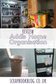 Home storage solutions solved with Addis. Kitchen organisation, laundry organisation and shelving for attics and lofts make life easier!