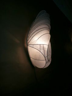 Lamp inspired by cocoon. Japanese Paper, Rice Paper, Inspired, Decor, Decoration, Decorating, Deco
