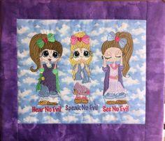 SherriBaldyGirls-02 - Free Instant Machine Embroidery Designs