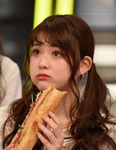 Matsumura Sayuri, Forgive Me Lord, Ryosuke Yamada, Uzzlang Girl, Corn Dogs, People Eating, Iconic Women, Interesting Faces, Cute Faces