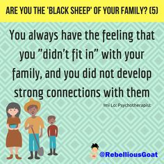 Quote 239 - Black sheep of family 5