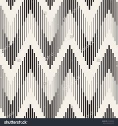 Vector seamless pattern. Modern stylish texture. Repeating geometric background with zigzag