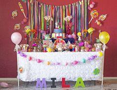 "Candyland / Birthday ""Mila's 1st Candyland""   Catch My Party"
