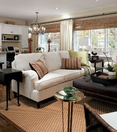 I love the textures and colors that are mixed beautifully in this space! yay Candice Olsen katwc2010