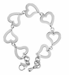 Open Heart Bracelet - Collectible Jewelry Accessory Bangle Brace Jewel Summit. $20.99. Save 43%!
