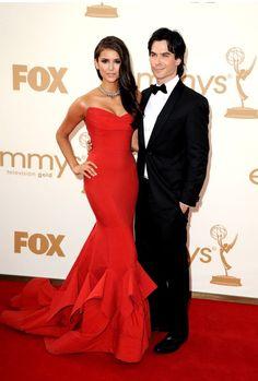Cutest couple award 2011... Ian Somerhalder and Nina Dobrev.