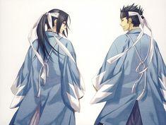 The best of friends. Hijikata Toshizo and Kondo Isami.