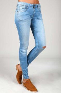 Denim Jeans, jeggings y Vaqueros para Mujer Denim Jeans, Skinny Jeans, Jeggings, Pants, Fashion, Openness, Women, Clothing, Trouser Pants