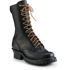 hese hand-crafted boots feature all-leather construction, and the deep Vibram® lug outsoles ensure superior traction in even the most rugged. Edna Mode, Wildland Firefighter, Outdoor Wear, Men's Footwear, White Boots, Brown Shoe, Cool Boots, Botany, Combat Boots