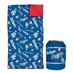 Los Angeles Dodgers Slumber Duffle Sleeping Bag - Youth $23.09