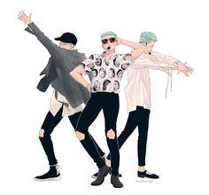 Namjoon // BTS FANART