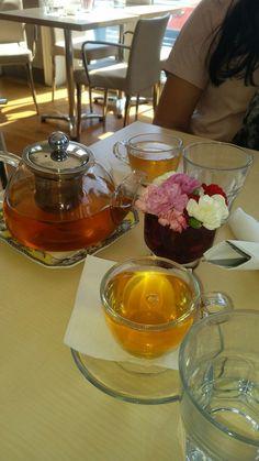 Jasmine tea and flowers for Springtime:)