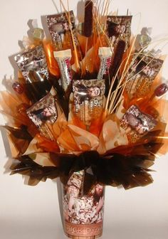 DUCK DYNASTY Candy Bouquet Centerpiece in a Mason by CandyFlorist, $29.95