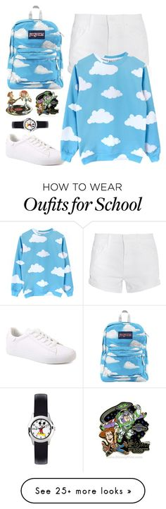 """Andy's Room"" by disney-nerd-designs on Polyvore featuring Mother, JanSport and Disney"