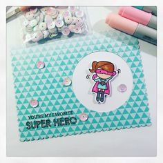 Mit Kammer - Copic - Super Hero - Tiny Heroes - Mama Elephant