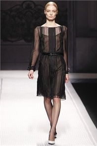 Fall Winter 2012-13 Alberta Ferretti, Milan - click on the photo to see the complete collection and review on Vogue.it