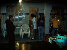 em casa de Jean - churasco  2004