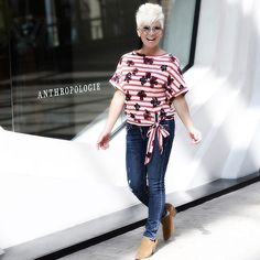 Strolling in front of my favorite and so excited for this THURSDAY when I'll be hosting ANTHROPOLOGIE'S Summer Fashion Show at the Shops at Wisconsin Place, Chevy Chase Maryland! Older Women Fashion, Over 50 Womens Fashion, Fashion Over 50, Fashion Tips, Fashion Black, Fashion 2017, Fashion Ideas, Fashion Dresses, Plus Size Womens Clothing