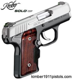 Kimber SOLO - I own this gun and love it!!!