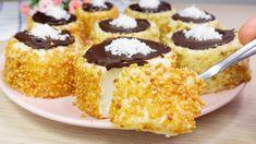 Kinds Of Desserts, Cold Desserts, No Cook Desserts, Party Desserts, Delicious Desserts, New Dessert Recipe, Dessert Recipes, Mocha Roll Cake Recipe, Custard Cake