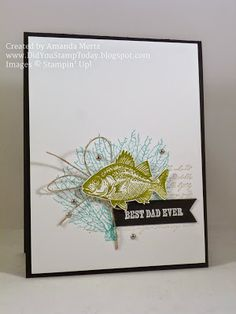 The next big holiday that requires some cards is Father's Day coming up in a few weeks. I've got quite a few Dad's to get cards too so I'...