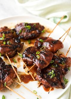 Chinese Chicken (Char Siu) is the chicken version of the wildly popular Chinese BBQ Pork. The smell when this is cooking is outrageous! Chinese Bbq Chicken Recipe, Chinese Bbq Pork, Barbecue Chicken, Teriyaki Chicken, Chinese Food, Chinese Desserts, Marinated Chicken, Barbecue Sauce, Pork Recipes