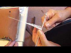 Filet in tondo - Parte 1 Needle Tatting, Needle Lace, Bobbin Lace, Tatting Patterns, Lace Patterns, Red Malla, Tenerife, Net Making, Lacemaking
