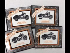 One Wild Ride by Stampin' Up! for making Birthday Cards