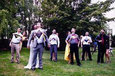 Superheros on the wedding :)