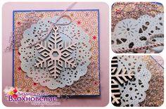 """Дизайн-студия: """"Вдохновение"""": Новогодняя Мини-открытка"""