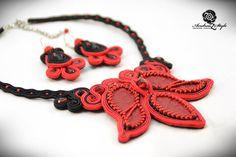 Soutache necklace - Andrea Zelenak S0234
