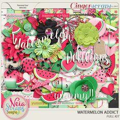 Watermelon Addict - Full Kit by Neia Scraps