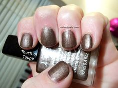 Nails Actually Avon Suede Touch of Taupe