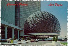 Omnimax theatre in Caesars Leaving Las Vegas, Las Vegas Strip, Vintage Travel Posters, Vintage Postcards, Old Vegas, Caesars Palace, Desert Oasis, Living In La, Bobs