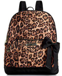 Betsey Johnson Handbag, Animal Quilted Backpack - Handbags & Accessories - Macy's