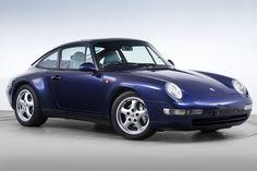 1994–97 Porsche 911 Carrera 4 3.6 Coupe UK-spec (993)