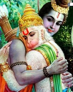 Image result for rama with hanuma