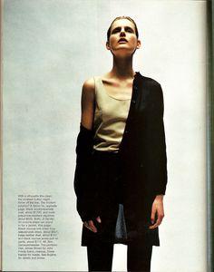 Harper's Bazaar / 1997 / 'Zen and the Art of Modern Dressing'