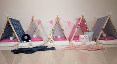 Sleepee Teepee is Adelaide's original sleepover party hire destination! We hire out our handmade teepees & bell tents in beautifully designed themed sets.