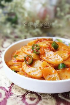 Stir Fried Chinese Sticky Rice Cakes (Nian Gao) Recipe (chao Nian Gao ...