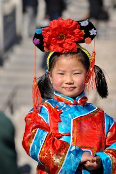Chinese Girl, Beijing, China by Etienne Marcuz, via Flickr