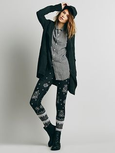 Free People Hendrix Sweater Legging at Free People Clothing Boutique
