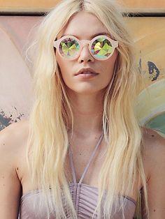 Future Eyes Kaleidoscope Sunglasses at Free People Clothing Boutique Festival Outfits, Festival Fashion, Diy Festival, Festival Wear, Future Eyes, Coachella 2016, Babe, Free People Clothing, Bodysuit
