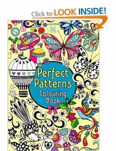 Fishpond New Zealand Perfect Patterns Colouring Book By Beth Gunnell Illustrated Buy Books Online