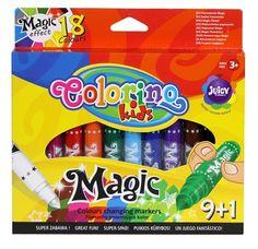 Colorino Kids Magic - Varázs Filctoll készlet 9+1 szín Snack Recipes, Snacks, Pop Tarts, Markers, Packaging, Magic, Fun, Kids, Products
