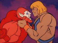 He-man vs Beast Man