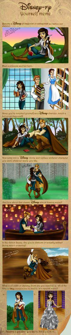 Disney-fy Yourself Meme by Jade-the-Tiger on DeviantArt