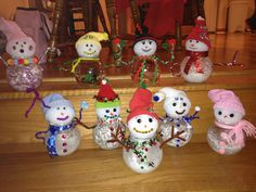 fish bowl snowman decor - Yahoo Image Search Results