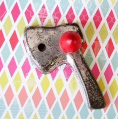 Chopping Down the Cherry Tree...Vintage Ax by pinkgrapefruitstyle, $4.95